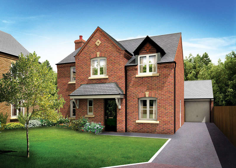 4 Bedrooms Detached House for sale in Norton Rise, Main Road , Austrey