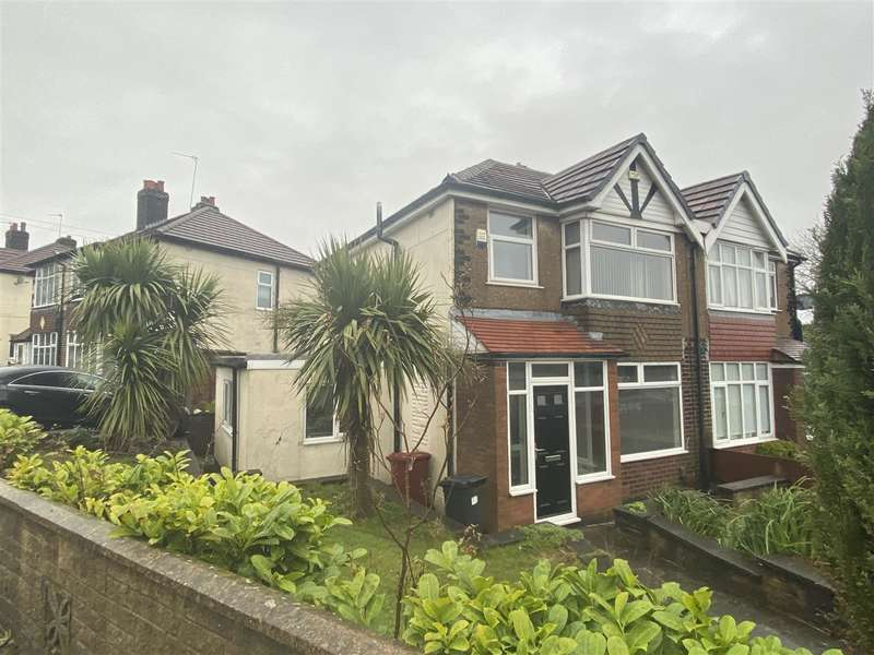 3 Bedrooms Semi Detached House for sale in Chorley Old Road, Bolton