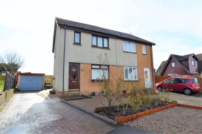 3 Bedrooms Semi Detached House for sale in Bothwellhaugh Quadrant, Bellshill, ML4