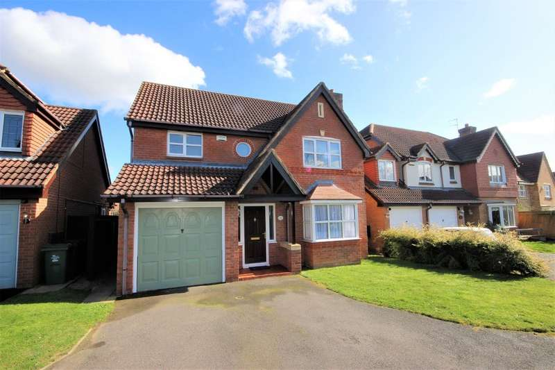 4 Bedrooms Detached House for sale in Fishpond Way, Loughborough