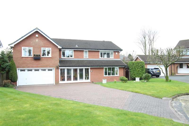 5 Bedrooms Detached House for sale in The Limes, Standish, Wigan