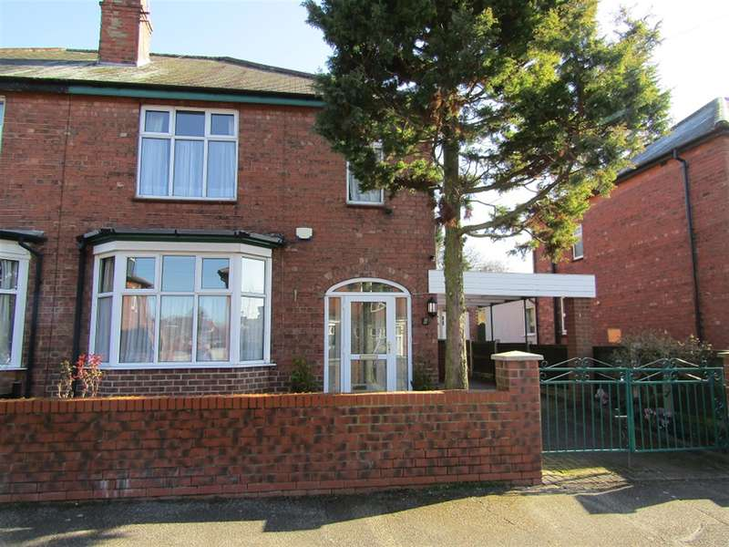 3 Bedrooms Semi Detached House for sale in Ulster Road, Gainsborough, DN21 2QX