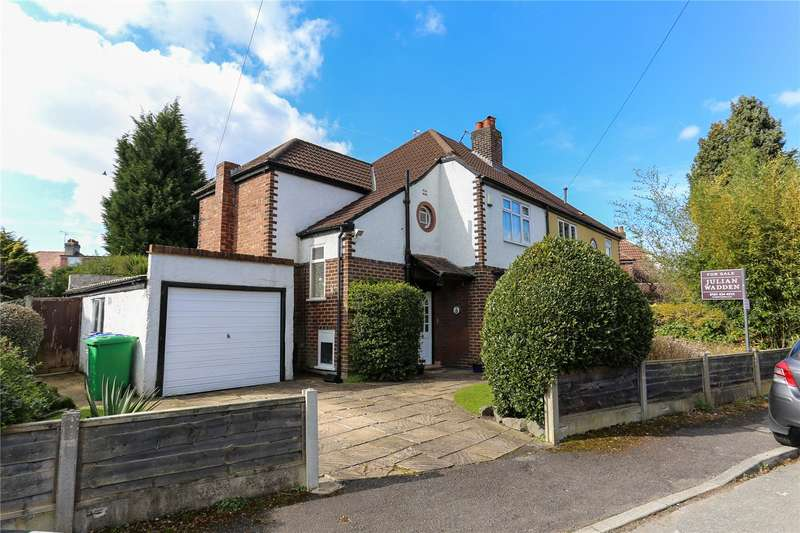 3 Bedrooms Semi Detached House for sale in Marton Avenue, Didsbury, Manchester, M20