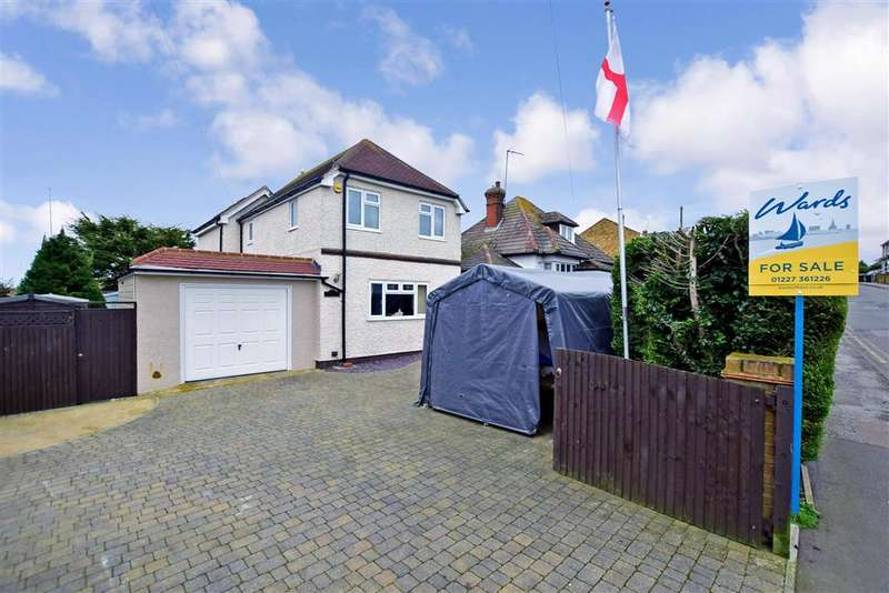 3 Bedrooms Detached House for sale in Reculver Road, , Beltinge, Herne Bay, Kent