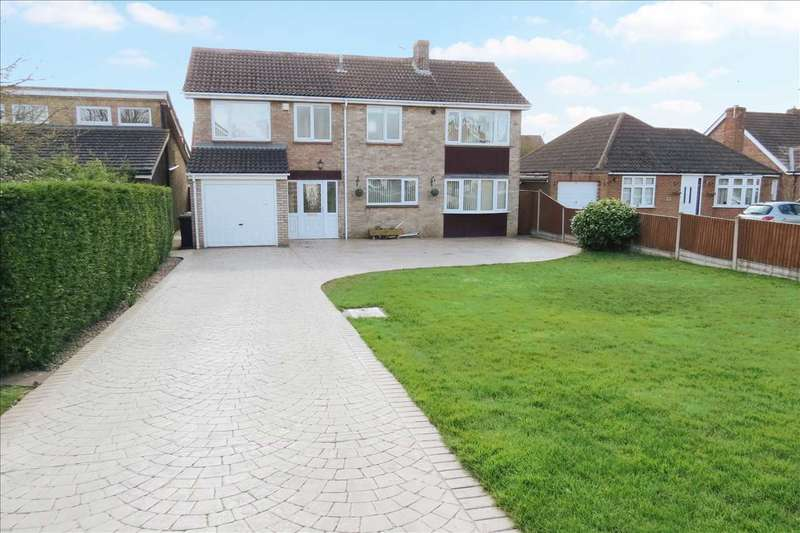 4 Bedrooms Detached House for sale in Grantham Road, Sleaford