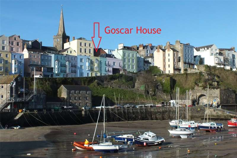 3 Bedrooms Terraced House for sale in Goscar House, Crackwell Street, Tenby, Pembrokeshire