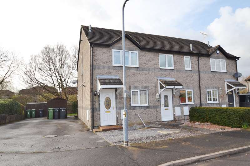 2 Bedrooms End Of Terrace House for sale in Horton Heath