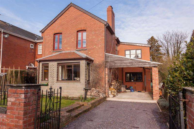4 Bedrooms Detached House for sale in Weston Grove, Ross-On-Wye, Herefordshire, HR9