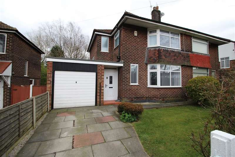 3 Bedrooms Semi Detached House for sale in Roundwood Road , Manchester