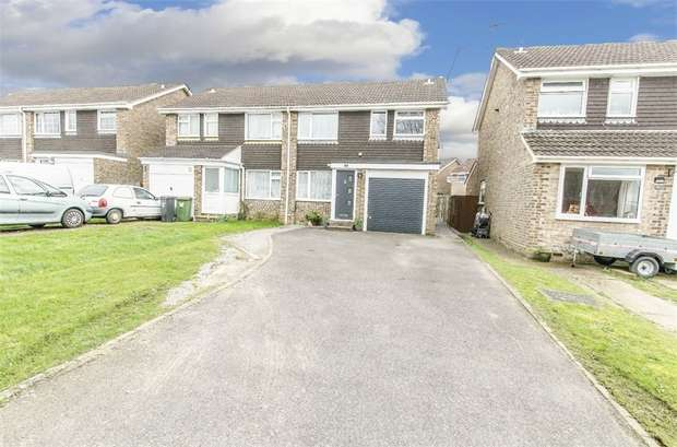 3 Bedrooms Semi Detached House for sale in Hunters Way, Bishopstoke, EASTLEIGH, Hampshire