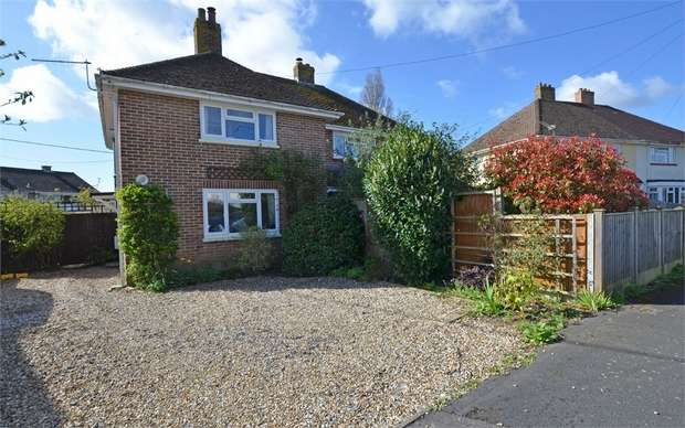 2 Bedrooms Semi Detached House for sale in Corbin Road, Pennington, Lymington, Hampshire