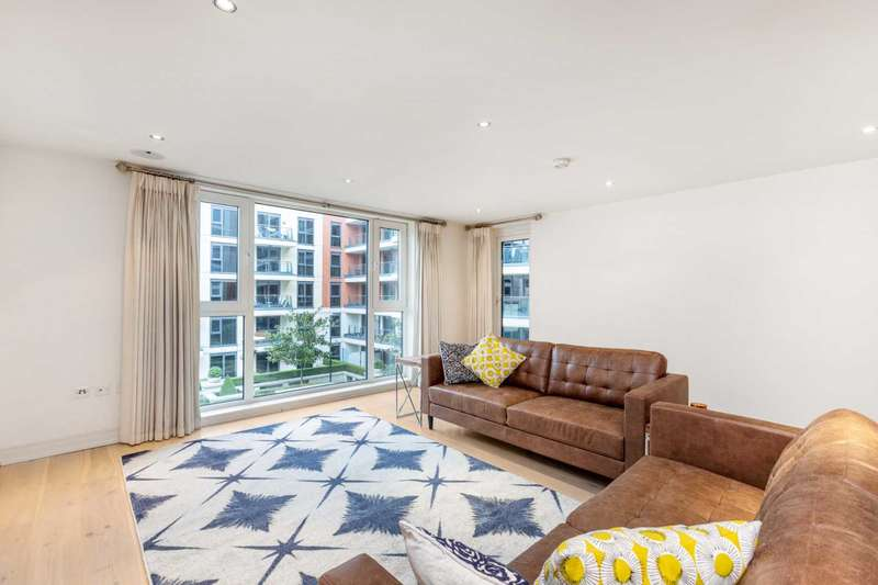 2 Bedrooms Apartment Flat for sale in Dolphin House, Imperial Wharf, London