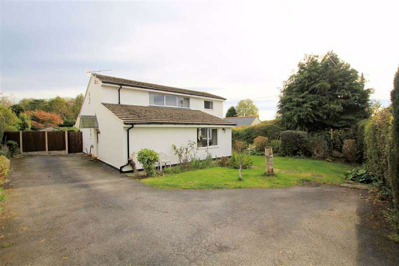 4 Bedrooms Detached House for sale in Ffordd Walwen, Lixwm, Flintshire