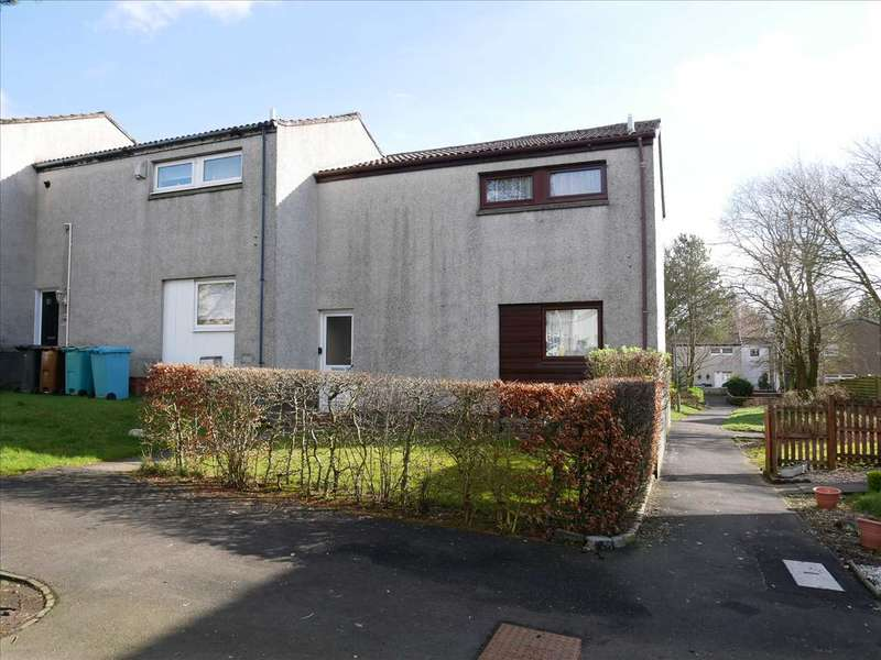 2 Bedrooms End Of Terrace House for sale in Leckethill View, Cumbernauld