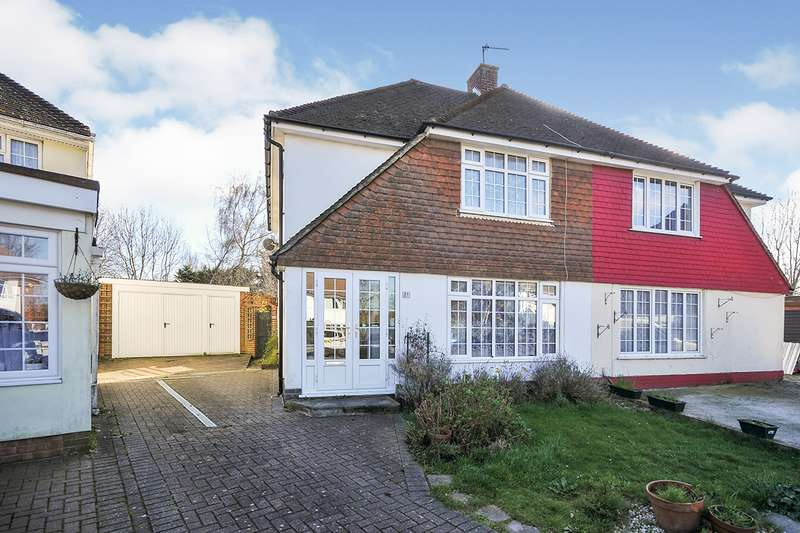 3 Bedrooms Semi Detached House for sale in Ladds Way, Swanley, Kent, BR8