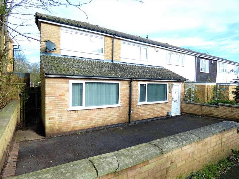 4 Bedrooms Semi Detached House for sale in Keightley Walk, Off Kiln Avenue , Thurmaston