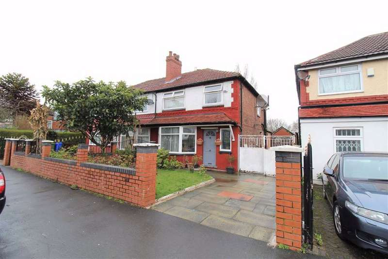 3 Bedrooms Semi Detached House for sale in Mauldeth Road, Manchester
