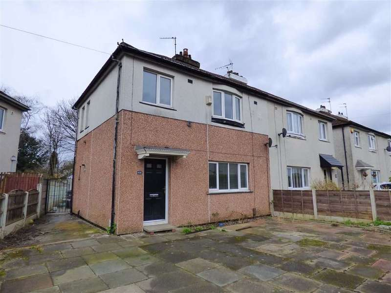 3 Bedrooms Semi Detached House for sale in Newville Drive, Withington, Manchester, M20