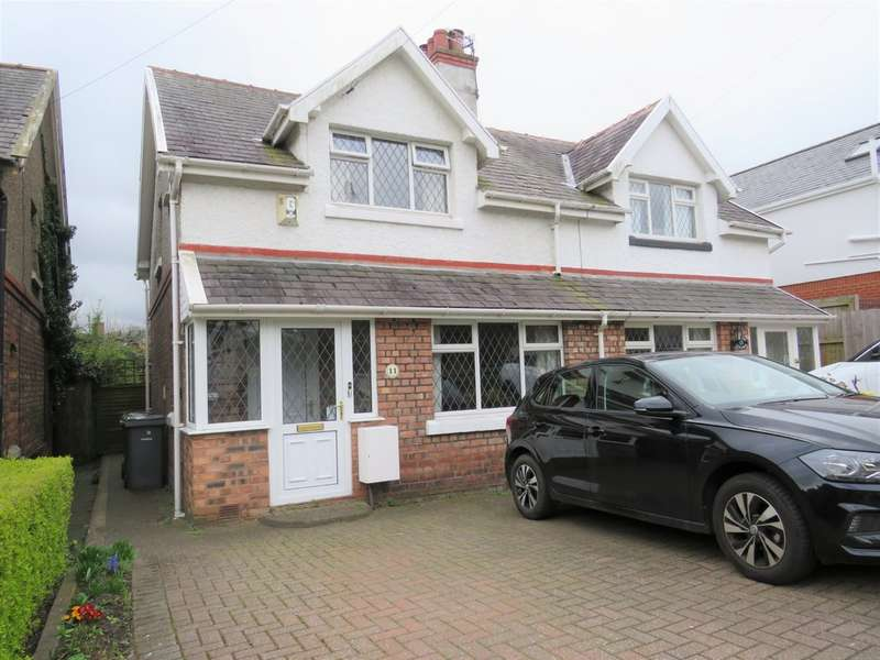 2 Bedrooms Semi Detached House for sale in Kings Brow, Bebington CH63
