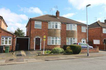 3 Bedrooms Semi Detached House for sale in Guilford Drive, Wigston, Leicester, Leicestershire