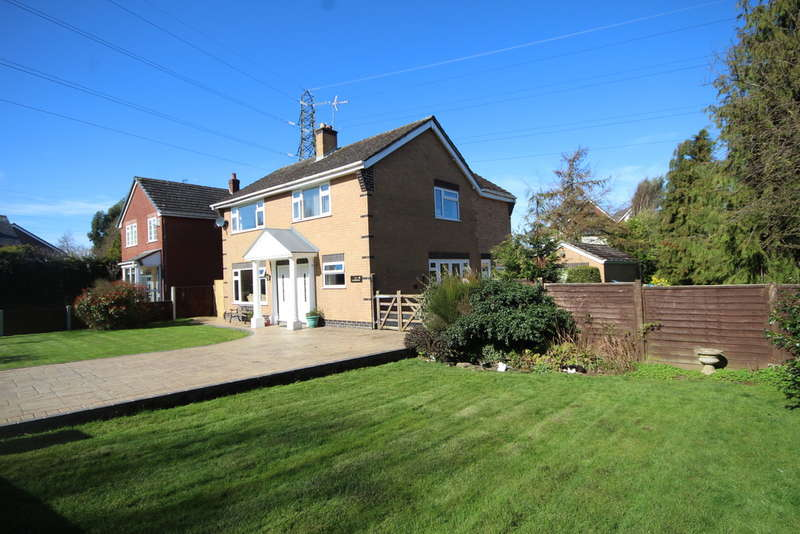 4 Bedrooms Detached House for sale in Wood Lane, Hawarden, Deeside