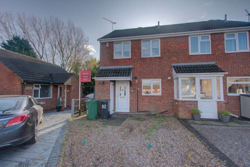 3 Bedrooms Semi Detached House for sale in Thorpefield Drive, Leicester, LE4