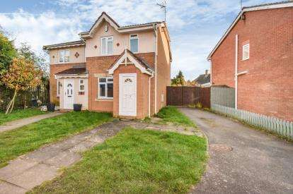 2 Bedrooms Semi Detached House for sale in Boynton Road, Braunstone, Leicester, Leicestershire