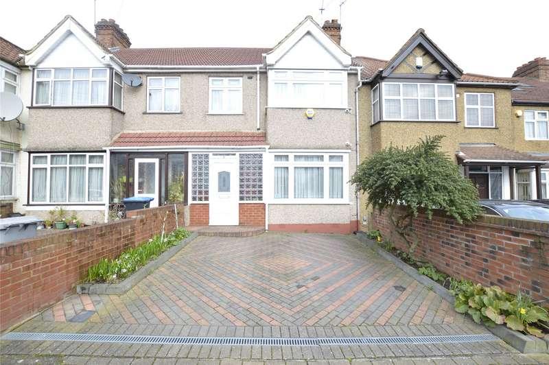3 Bedrooms Terraced House for sale in Meadowbank Road, KINGSBURY, NW9