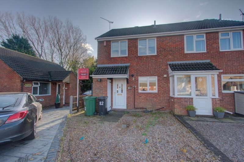 3 Bedrooms Semi Detached House for sale in Thorpefield Drive, , Leicester, LE4 8GW