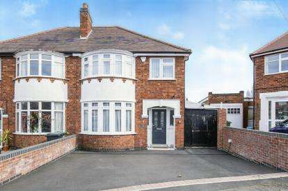 3 Bedrooms Semi Detached House for sale in Lodgewood Avenue, Birstall, Leicester, Leicestershire