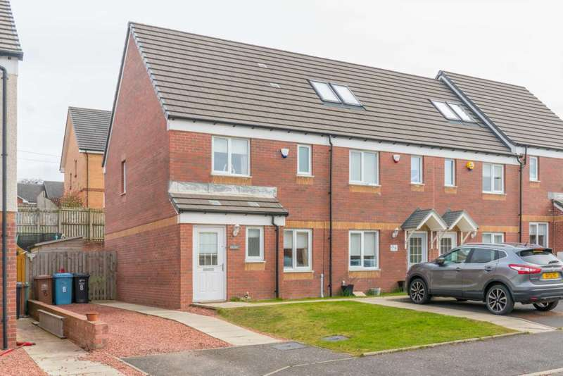 3 Bedrooms End Of Terrace House for sale in Paterson Walk, Motherwell