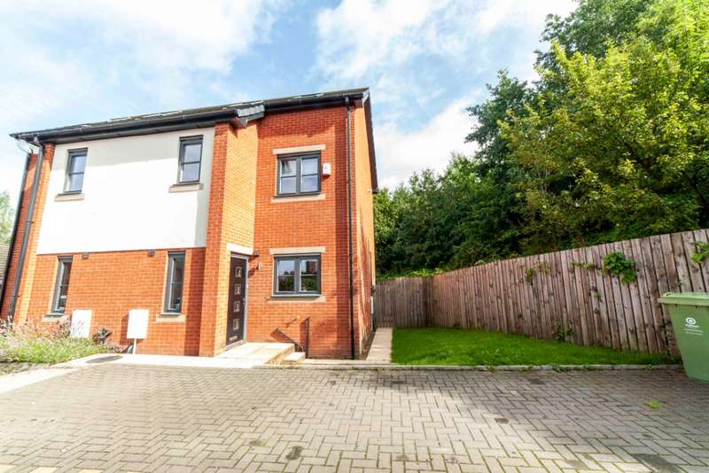 3 Bedrooms Semi Detached House for sale in Owls Gate, Lees, Oldham, OL4 3FL