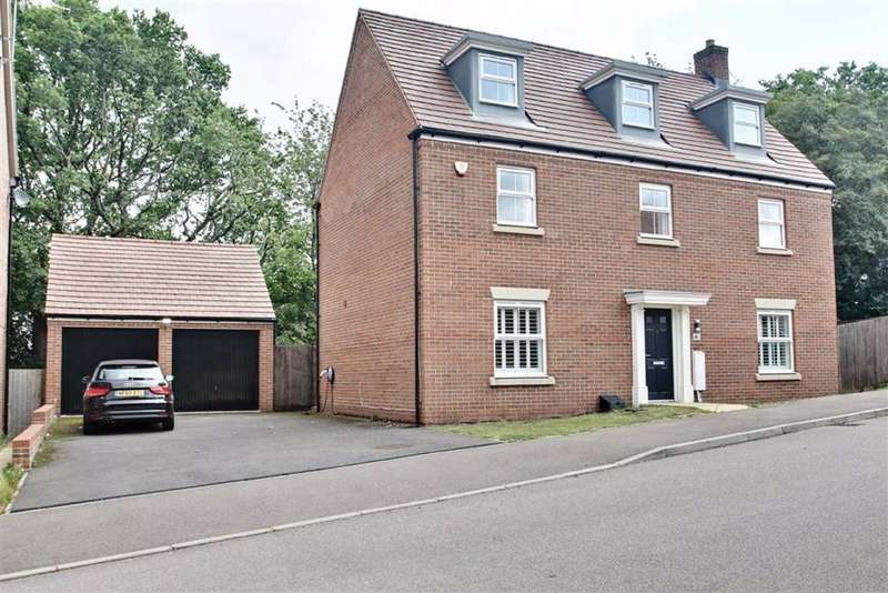 5 Bedrooms Detached House for sale in Shearwater Road, Apsley, Hertfordshire