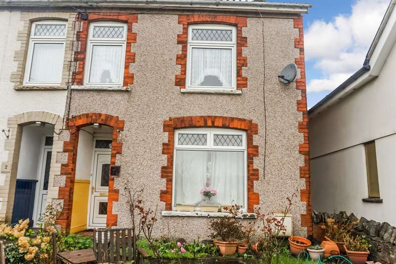 3 Bedrooms End Of Terrace House for sale in Highland Terrace, Blackwood, NP12
