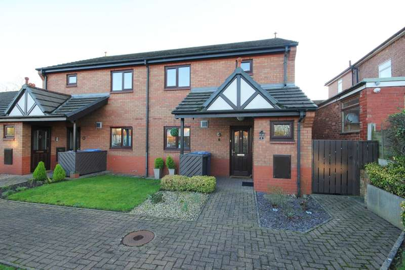 1 Bedroom Apartment Flat for sale in Myddleton Lane, Winwick, Warrington, WA2