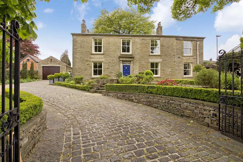 5 Bedrooms Detached House for sale in Lovely Hall, Broadhead Road, Edgworth, Bolton