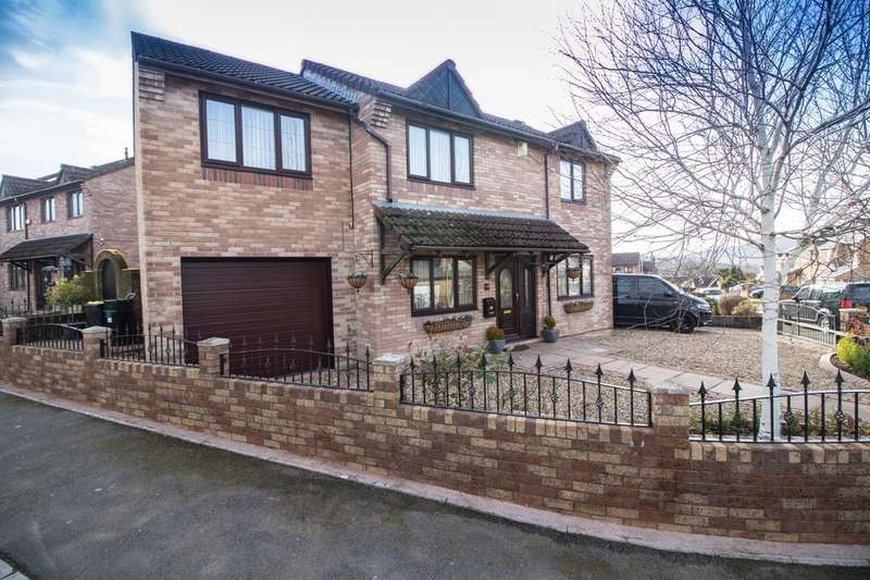 4 Bedrooms Detached House for sale in Shire Court, Quakers Yard