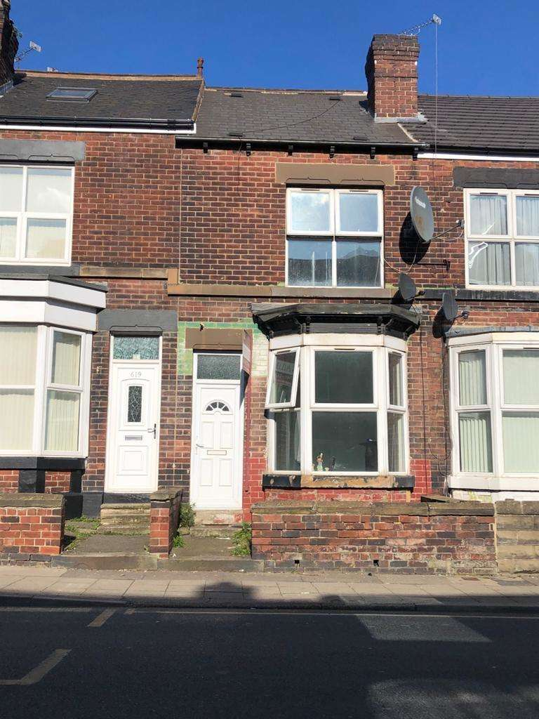 3 Bedrooms Terraced House for sale in Staniforth Road, Sheffield, S9 4RD