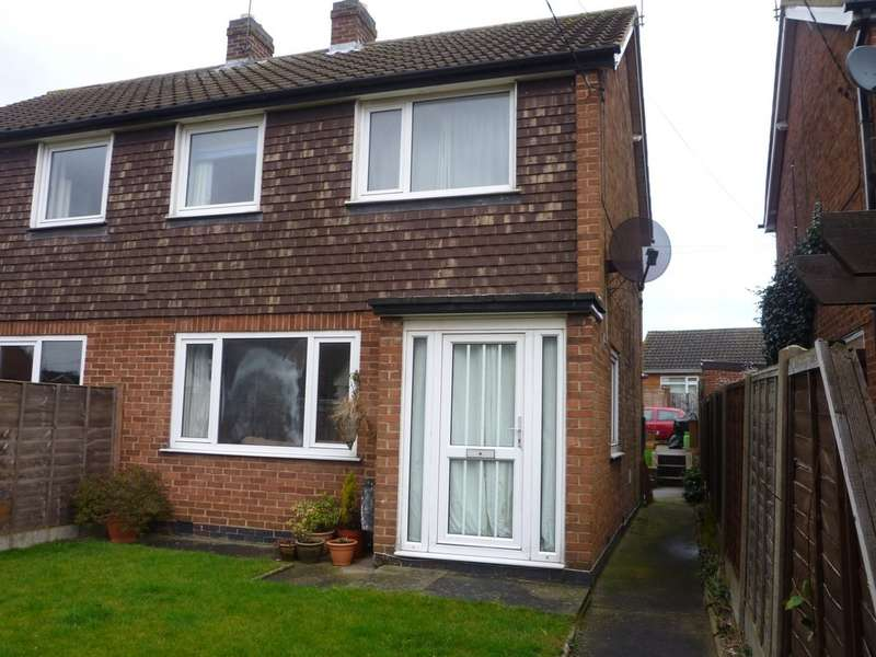 3 Bedrooms Semi Detached House for rent in Sandhills Close, Belton LE12