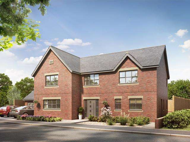 4 Bedrooms Detached House for sale in Quarndon Heights, Allestree, Derby