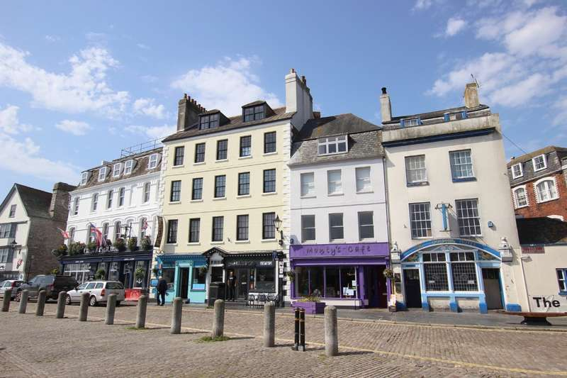 3 Bedrooms Maisonette Flat for sale in The Barbican, Plymouth, Devon, PL1 2LS