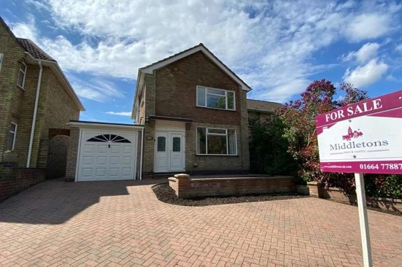 3 Bedrooms Semi Detached House for sale in Nottingham Road, Melton Mowbray