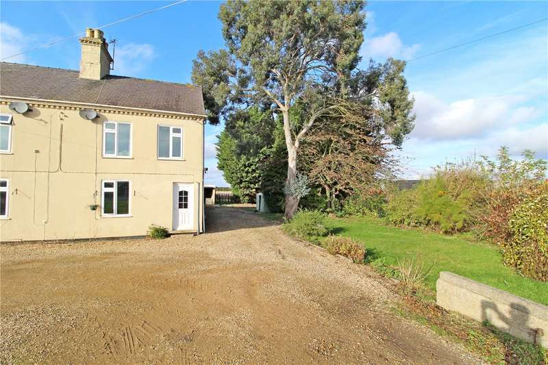 3 Bedrooms Semi Detached House for sale in Allice Cottage, Main Road, Deeping St. Nicholas, Spalding, PE11