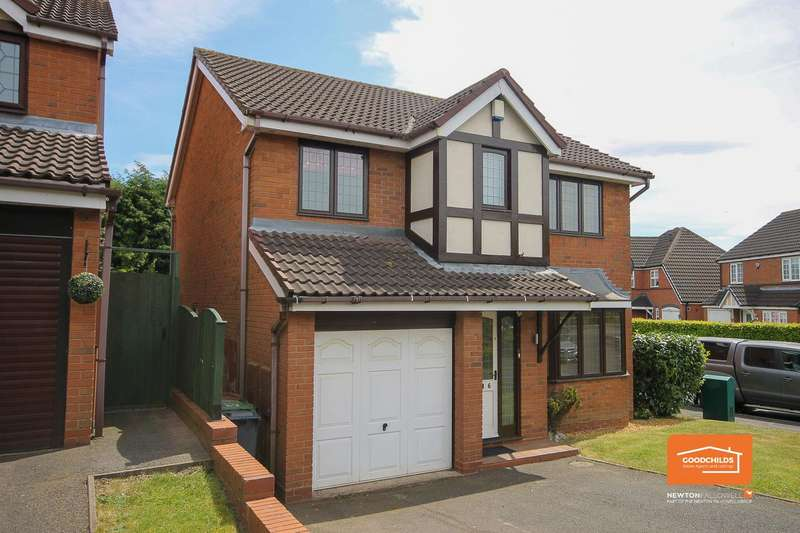 4 Bedrooms Detached House for sale in Marlpool Drive, Pelsall, Walsall