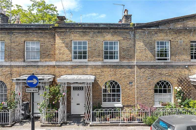 2 Bedrooms Terraced House for sale in Courtenay Street, Kennington, London, SE11