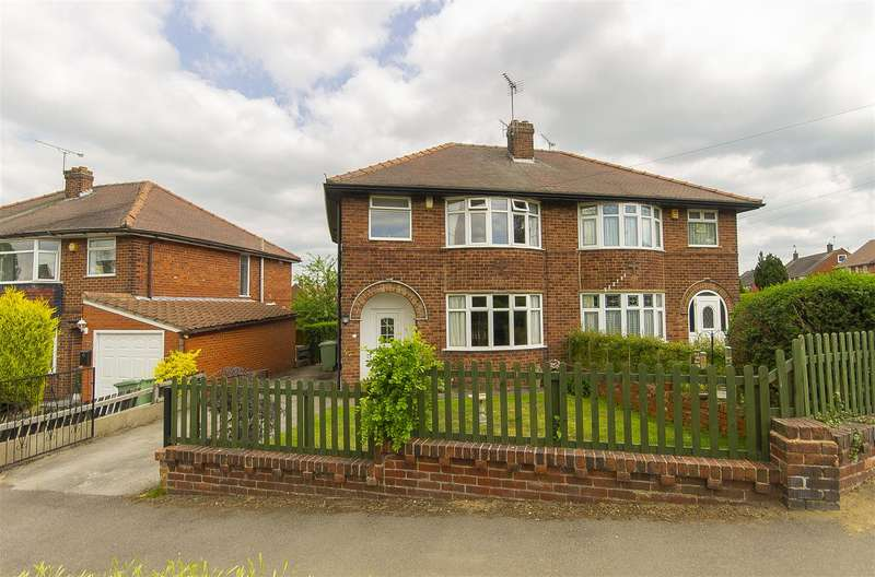 3 Bedrooms Semi Detached House for sale in Sandringham Road, Calow, Chesterfield