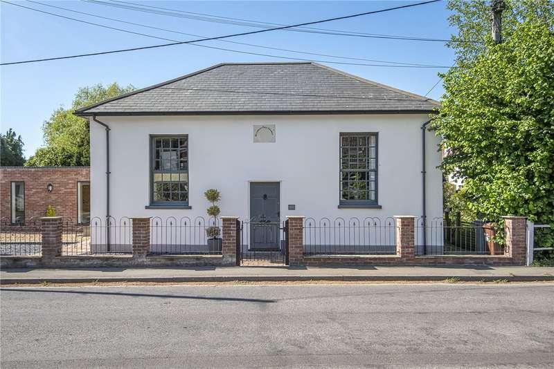 4 Bedrooms Detached House for sale in Winchester Road, Kings Somborne, Stockbridge, Hampshire, SO20