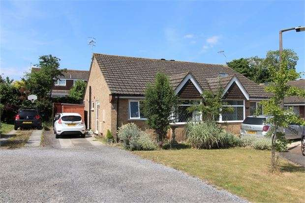 2 Bedrooms Semi Detached Bungalow for sale in West Garston, Banwell, Weston-super-Mare, North Somerset. BS29 6EZ