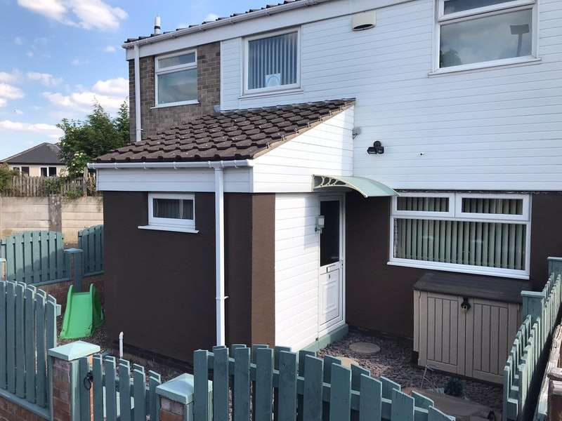 2 Bedrooms End Of Terrace House for sale in Crofton Rise, Sheffield, South Yorkshire, S35