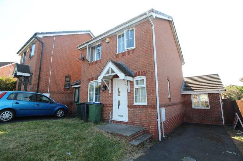 4 Bedrooms Detached House for sale in Poplar Rise, Tividale, Oldbury, West Midlands, B69